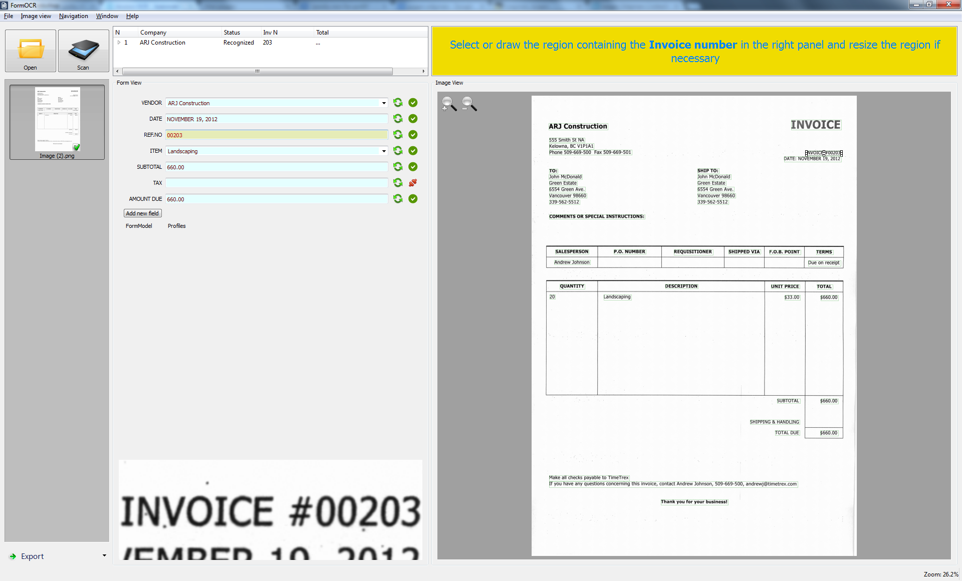 SmartSoft Invoices Automatic Invoice Processing - Invoice processing software