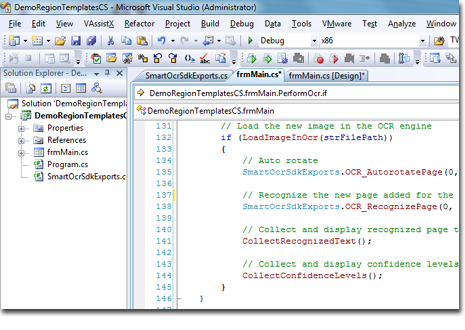 SmartOCR SDK - add OCR capabilities to your applications with a few lines of code.